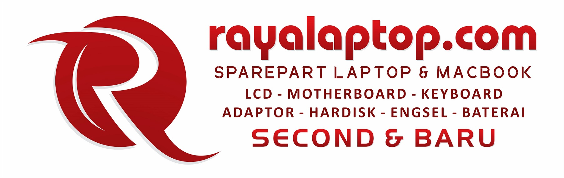 Rayalaptop.com – Jual Sparepart Laptop, MacBook dan Service