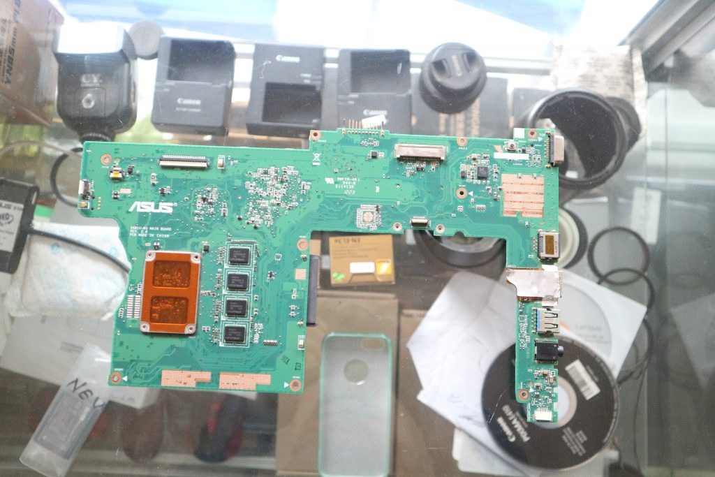 jual mainboard asus x401u second