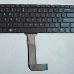 Keyboard DELL Inspiron N4050 3420 M4110 M4040 M5040 N4110 N5040 Black Colour Layout US With Frame